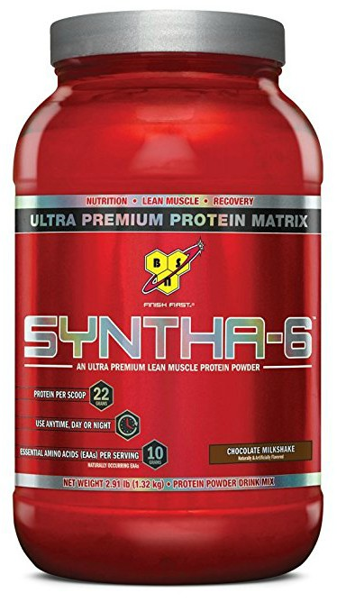 BSN SYNTHA-6 Protein Powder - Chocolate Milkshake, 2.91 lb (28 Servings)