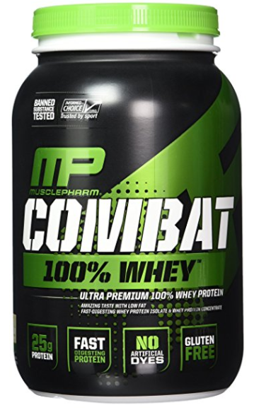 MusclePharm Combat 100% Whey Protein Powder