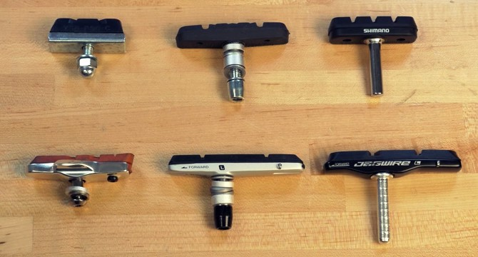 road bike brake pads review