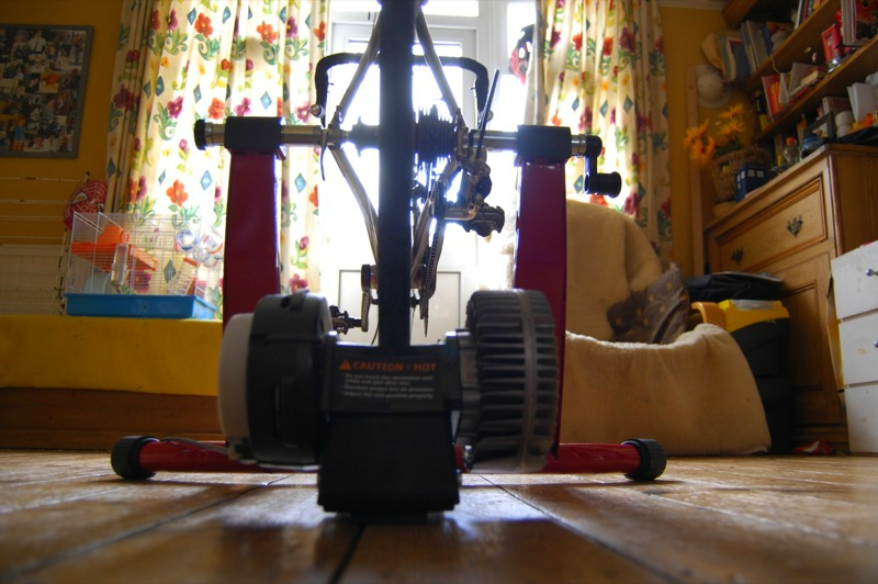 turbo trainer indoors